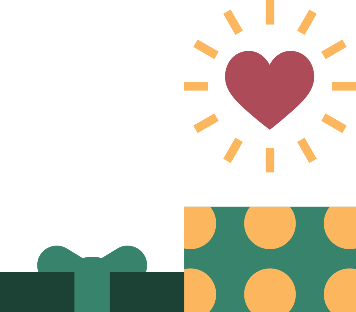 gifts-donations-heart icon