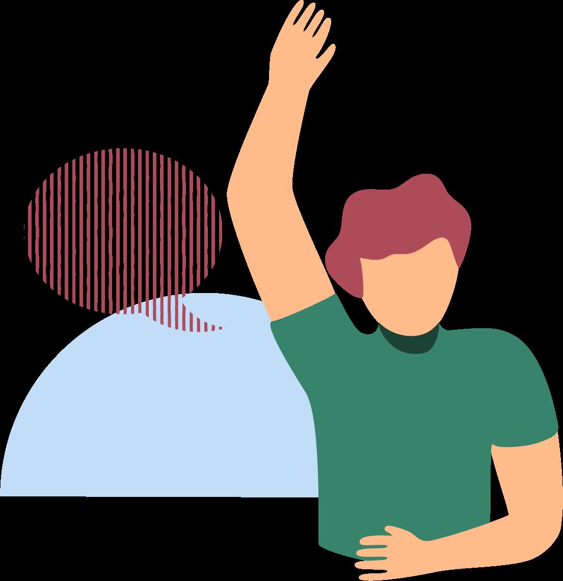 raise hand icon